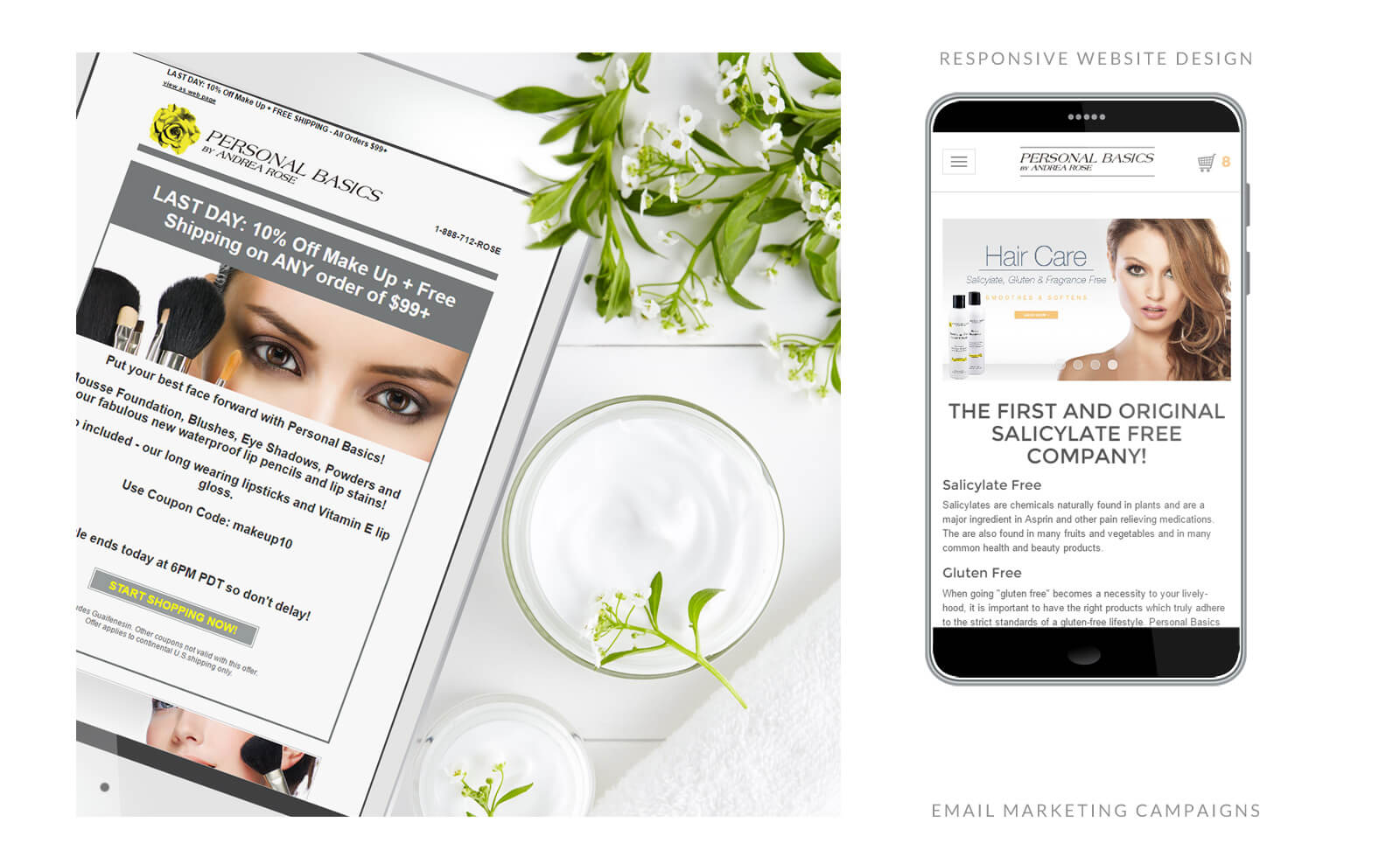 Services Online Skin Care Marketing